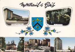 93  MONTREUIL  SOUS BOIS / MULTIVUES / BLASON - Montreuil