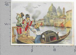 CARTOLINA NV ITALIA - VENEZIA - Gondola - Bimbi Stranieri In Costume - Cina E Giappone - Casa Mamma Domenica - 10 X 15 - Contemporanea (a Partire Dal 1950)