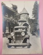 13 Photos Anciennes. Voitures Et Motos. FN. 1931 - Photography