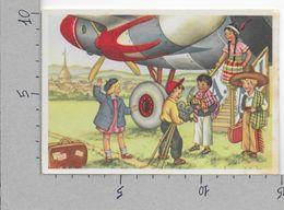 CARTOLINA NV ITALIA - TORINO - Bimbi Stranieri In Costume - Messicani E Indiani - Casa Mamma Domenica - 10 X 15 - Contemporanea (a Partire Dal 1950)