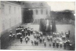 Beveren-waes, Pensionnat, Nieuw Geestelijk Hof, La Cour, Verstuurd 1914 - Beveren-Waas