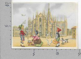 CARTOLINA NV ITALIA - MILANO - Bimbi In Costume - Tirolesi - Casa Mamma Domenica - 10 X 15 - Contemporanea (a Partire Dal 1950)