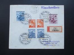 Böhmen Und Mähren 1942 / 43 SST / Sonderbeleg Ca. 3 Monate Später Echt Gelaufen Prag - Berlin! R-Brief Prag 1 17830 F - Briefe U. Dokumente