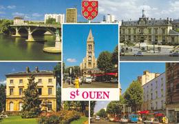 93  SAINT OUEN / MULTIVUES / BLASON - Saint Ouen