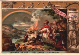 1 Chromos Liebig - S 159 - Biblique - Bible - Noé - Ancien Testament - Lieb035 - R/V - Liebig