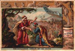 1 Chromos Liebig - S 159 - Biblique - Bible - Réconciliation - Ancien Testament - Lieb036 - R/V - Liebig