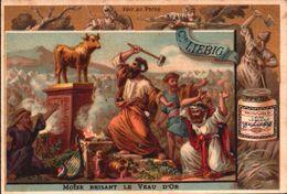 1 Chromos Liebig - S 159 - Biblique - Bible - Veau D' Or - Ancien Testament - Lieb037 - R/V - Liebig
