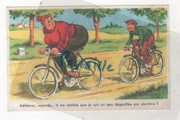 CP HUMORISTIQUE ILLUSTRATEUR CHAPERON JEAN - COUPLE A VELO - GP LA ROSE 1015 EDITIONS G. PICARD - Chaperon, Jean