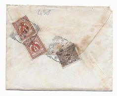 EDB458  - REGNO , Lettera Da Borgo S. Lorenzo 6/10/1909 - 1900-44 Vittorio Emanuele III