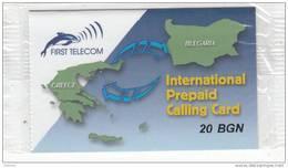 BULGARIA - First Telecom Prepaid Card 20 BGN, Mint - Bulgaria