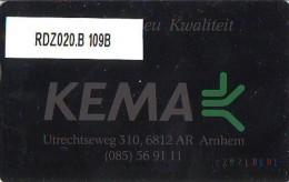 Telefoonkaart  LANDIS&GYR NEDERLAND * RDZ.020.B 109B * Pays Bas Niederlande Prive Private  ONGEBRUIKT * MINT - Nederland