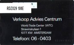 Telefoonkaart  LANDIS&GYR NEDERLAND * RDZ.029 108E * Pays Bas Niederlande Prive Private  ONGEBRUIKT * MINT - Privé