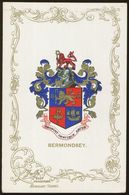 Ja Ja Heraldic Series Postcard : Bermondsey (coat Of Arms, Crest) +/- 1905 - United Kingdom