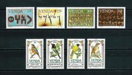 Venda  Nº Yvert  103/6-107/10  En Nuevo - Venda