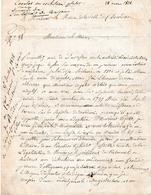 1838 - Recherche D'un NOM MAL ORTHOGRAPHIE Au Moment De L'adoption En Mairie De DOURDAN Avec Réponse - Documents Historiques