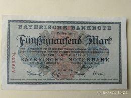 Munchen 50000 Mark 1923 - [11] Emissioni Locali