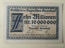 Munchen 10 Milioni Mark 1923 - [11] Emissioni Locali