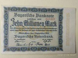 Munchen 10 Milione Mark 1923 - [11] Emissioni Locali