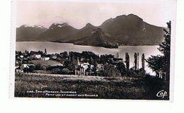 74.. ENVIRONS  D ANNECY   TALLOIRES   MASSIF DES BAUGES - Annecy