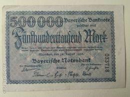 Munchen 500000 Mark 1923 - [11] Emissioni Locali