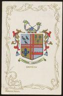 Ja Ja Heraldic Series Postcard : Croydon (coat Of Arms, Crest) +/- 1905 - United Kingdom