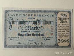 Munchen 25 Milioni Mark 1923 - [11] Emissioni Locali
