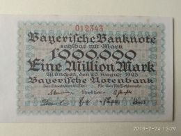 Munchen 1 Milione Mark 1923 - [11] Emissioni Locali