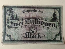 Nordhausen 2 Milioni Mark 1923 - [11] Emissioni Locali