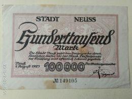 Neuss 100000 Mark 1923 - [11] Emissioni Locali
