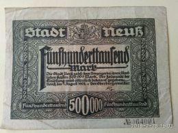Neuss 500000 Mark 1923 - [11] Emissioni Locali