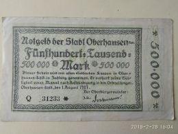 Oberhausen 500000 Mark 1923 - [11] Emissioni Locali