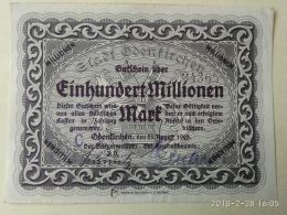 Odenkirchen 100 Milioni Mark 1923 - [11] Local Banknote Issues