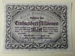 Odenkirchen 100 Milioni Mark 1923 - [11] Emissioni Locali