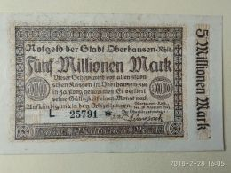Oberhausen 5 Milioni Mark 1923 - [11] Emissioni Locali