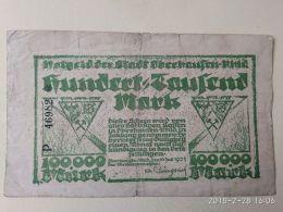 Oberhausen 100000 Mark 1923 - [11] Emissioni Locali