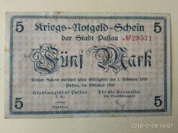 Passau 5 Mark 1918 - [11] Emissioni Locali