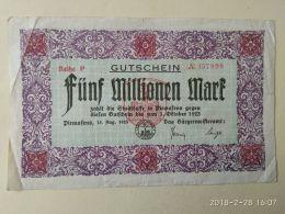 Pirmasens 5 Milioni Mark 1923 - [11] Emissioni Locali