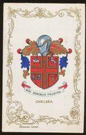Ja Ja Heraldic Series Postcard : Chelsea (coat Of Arms, Crest) +/- 1905 - United Kingdom