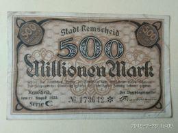 Remscheid 500 Mark 1923 - [11] Emissioni Locali