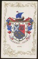 Ja Ja Heraldic Series Postcard : Hove (coat Of Arms, Crest) +/- 1905 - United Kingdom