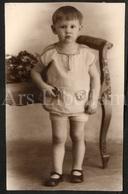 Photo Ancien / Foto / Photograph / Boy / Garçon / Pol Devaux - Personnes Identifiées