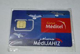 MAROC TELECARTE CARTE GSM SIM MEDITEL MédiJAHIZ   ///// B1 - Maroc