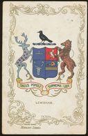 Ja Ja Heraldic Series Postcard : Lewisham (coat Of Arms, Crest) +/- 1905 - United Kingdom