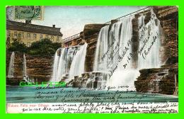 OTTAWA, ONTARIO - RIDEAU FALLS - CIRCULÉE EN 1906 - MONTREAL IMPORT CO - - Ottawa