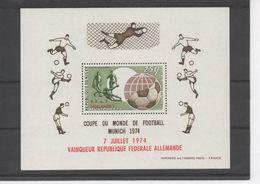 """NIGER - Football - Coupe Du Monde De Football à Munich - Surchargé """"7 Juillet 1974 Vainqueur République Fédérale Allema - Niger (1960-...)"""