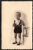 Photo Postcard / Foto / Photograph / Boy / Garçon / Unused - Photographie