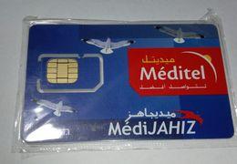 MAROC TELECARTE CARTE GSM SIM MEDITEL MédiJAHIZ   ///// B2 - Maroc