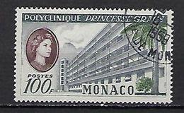 """Monaco YT 513 """" Polyclinique """"Princesse Grace"""" 1959 Oblitéré - Used Stamps"""