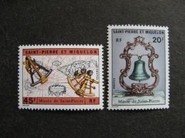 Saint Pierre Et Miquelon: TB Paire N° 417 Et N° 418, Neufs XX. - Neufs