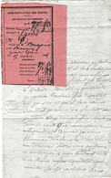 1835 - TARASCON-sur-RHÔNE - Lettre D'un Militaire Embarqué Pour L'Italie Puis L'Afrique - OBSÈQUES D'un Capitaine - Documents Historiques